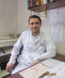 Євтєєв Ю.Є., дільничний лікар-акушер-гінеколог жк1 другої категорії, стаж роботи понад 8 р.