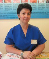 лікар-акушер-гінеколог кабінету патології шийки матки Бєла Т.М. , лікар першої категорії, стаж роботи понад 18 р, жк1